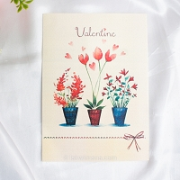 Love Plant Valentine Card